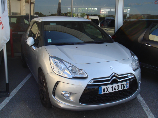 Ds3 hdi 90cv 99g so chic v hicules occasions vente for Garage marignane occasion