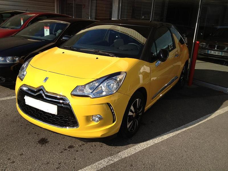 Citroen ds3 hdi 90cv so chic vhicules occasions vente voitures citron vitrolles - Garage citroen marignane ...