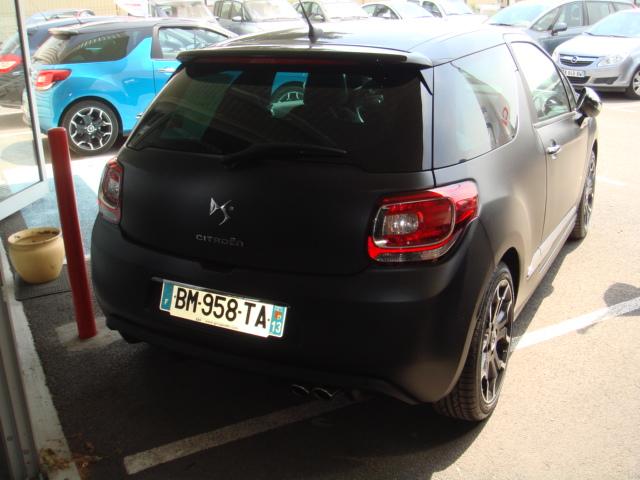 Ds3 thp 150cv s rie noire mat garage auto vitrolles auto provence services - Garage peugeot vitrolles ...